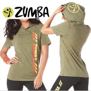 🛍Zumba Fitness Hooded T-Shirt Loose Fit